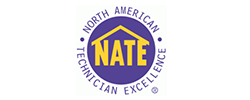 Air Management technicians are NATE certified